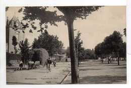 - CPA MARMANDE (47) - Esplanade De Maré 1906 (avec Personnages Et Attelage De Boeufs) - Edition Vve Innéty - - Marmande