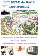 La Compagnie Des Chemins De Fer Du Nord Et La Croix Rouge - La Bataille De La Somme (DP 35) - Guerre Mondiale (Première)