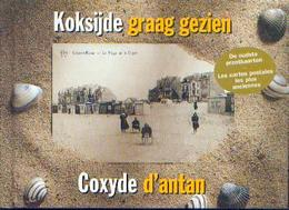 """« KOKSIJDE Graag Gezien – COXYDE D'antan"""" VERCAEMER, M. & DEBAEKE, S. Uitg. De Klaproos, Koksijde (2002) - Books"""