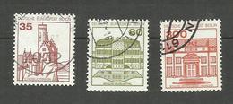 Berlin N°632 à 634 Cote 3 Euros - Used Stamps