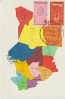 Tchad Carte Maximum 1961 - Tchad (1960-...)