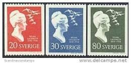 ZWEDEN 1958 Selma Lagerlõf Serie PF-MNH - Sweden