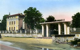 ISLE-sur-SORGUE Entrée Du Jardin Public De La Caisse D'épargne (1803) - L'Isle Sur Sorgue