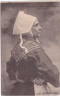 F29-006 JEUNE FILLE DE PLOUGASTEL DOUALAS - Profil De La Coiffe - Costumes