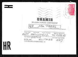 Courrier Militaire: UNAMIR - Rwanda