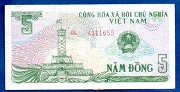 VIETNAM / Pick 92 / 5 Dong   / TB+ - Viêt-Nam