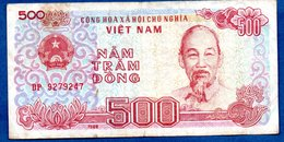 VIETNAM / Pick 101 / 500 Dong 1988  / TB+ - Vietnam