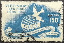 Vietnam North 1958 4th Congress Of International Democratic Women Federation - Vietnam