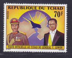 TCHAD N°  274 ** MNH Neuf Sans Charnière, TB (D7303) Visite Du Général Gowon - Tchad (1960-...)