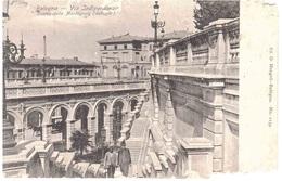 VIA INDIPENDENZA SCALEA DELLA MONTAGNOLA ANNULLO TRQ MONDOVI' PIAZZA CUNEO - Bologna