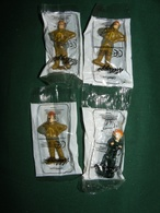 DI - GATA LES DEFENSEURS : 4 FIGURINES OFFERTES PAR KELLOGG ' S - Figurines