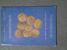 """Catalogue De Vente Delorme Et Fraysse -Alain Weil 1998 """"la Vente Aux 3 Trésors"""" - Libri & Software"""