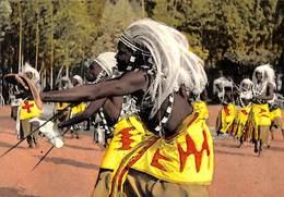 Ruanda-Urundi - Danseurs Watuzi (animée, Timbres) - Ruanda-Urundi