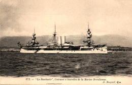 """Le """"Riachuelo"""" -  Cuirassé à Tourelles De La Marine Brésilienne - Guerre"""