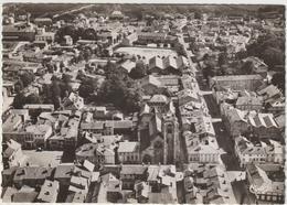 ST-DIZIER  9640 - Vue  Aérienne De L'Eglise N-D. Et La Rue Gambetta (CPSM: 15x10cm Env.) - Saint Dizier