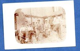 Artois - Carte Photo  - Soldats Allemands Dans Un Village  -juillet 1915 - 13 Inf Reg --  Endoit Exact à Identiifer - France