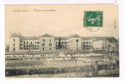 CPA (49) Cholet. Hospice Civil Et Militaire  (231) - Cholet