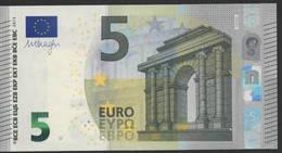 € 5 GREECE  Y003 J6  LAST POSITION  DRAGHI  UNC - 5 Euro