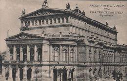 Frankfurt Main - Opernhaus - Ca. 1935 - Frankfurt A. Main