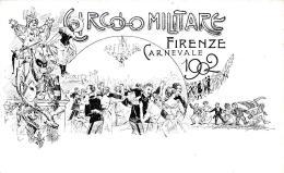 [DC11865] CPA - FIRENZE CIRCOLO MILITARE - CARNEVALE 1902 - PERFETTA - Non Viaggiata - Old Postcard - Militari