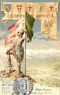 [DC11867] CPA - I CORPO D'ARMATA - TORINO - PERFETTA - Viaggiata - Old Postcard - Regiments