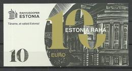 ESTONIA 10 EUR Reklamegeld Advertising Money Theater Estonia - Estonie