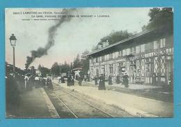 CPA Chemin De Fer La Gare Passage De Pélerins Pur Lourdes LAMOTHE-DU-TEICH 33 - Otros Municipios