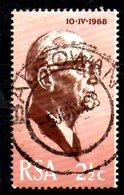 AFRIQUE SUD. N°311 Oblitéré De 1968. Election Du Nouveau Président. - South Africa (1961-...)