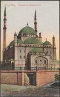 Mosquée De Mohamet Ali, Le Caire, C.1905-10 - Rudmann CPA - Cairo