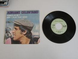 Adriano Celentano - Don't Play That Song / Mondo In Mi 7 (19!!) - Sonstige - Italienische Musik