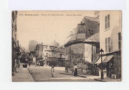 Paris. Montmartre. Manoir De La Belle Gabrielle. Rue Du Mont Cenis. Publicité Chocolat Menier. (2882) - Arrondissement: 18