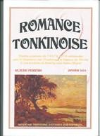 Indochine Romance Tonkinoise Recueil De Correspndances TB 30 X 20 Cm 55 Pages 5 Scans - Histoire