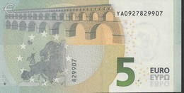 € 5 GREECE  Y001 D5  DRAGHI  UNC - 5 Euro