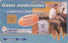 TARJETA TELEFONICA DE MEXICO. INFRAMÉDICA (049) - México