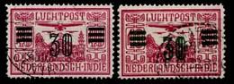 Indes Néerlandaises 1930  Nvph Nr. LP 11-12   Oblitérés /Used / Gestempeld - Niederländisch-Indien