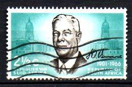 AFRIQUE DU SUD. N°306 Oblitéré De 1966. Président Verwoerd. - South Africa (1961-...)