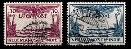 Indes Néerlandaises 1930  Nvph Nr. LP 14-15   Oblitérés /Used / Gestempeld - Niederländisch-Indien