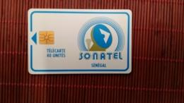 Phonecard BiSenegal 40 Units   Used Rare - Senegal