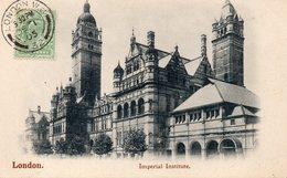 CPA LONDON - IMPERIAL INSTITUTE - Non Classés