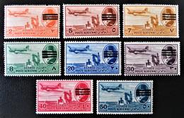POSTE AERIENNE 1953 - NEUFS ** - YT 57 + 59/66 - Egypt