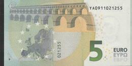 € 5 GREECE  Y001 B2  DRAGHI  UNC - EURO