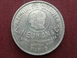 FRANCE Médaille Calandriers De 21 Années L. NEUMAN Et Compagnie RARE - France