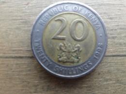 Kenya  20  Shillings  1998  Km 32 - Kenya