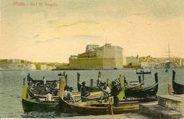 MALTA - Fort.St Angelo - Malte