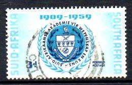 AFRIQUE DU SUD. N°220 Oblitéré De 1959. Armoiries. - Briefmarken