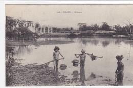 Asie - Hanoï - Pêcheurs - Viêt-Nam