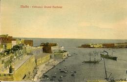 MALTA - Entrance Grand Harbour - Malta