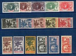 Mauritanie YT N° 1/16 Complet Neufs *. B/TB. A Saisir! - Mauritania (1906-1944)