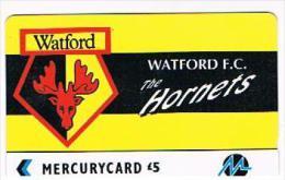GRAN BRETAGNA (UNITED KINGDOM) - PAYTELCO MERCURY GPT - FOOTBALL CLUB: WATFORD F.C., HORNETS (TIR.2010) -USED-RIF.7053 - United Kingdom