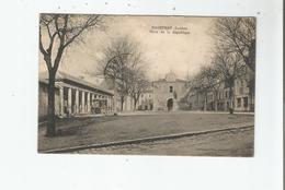 HAGETMAU (LANDES) PLACE DE LA REPUBLIQUE 1924 - Hagetmau